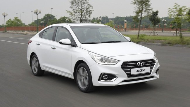 Giá xe Hyundai Accent 2020 tại Bình Dương