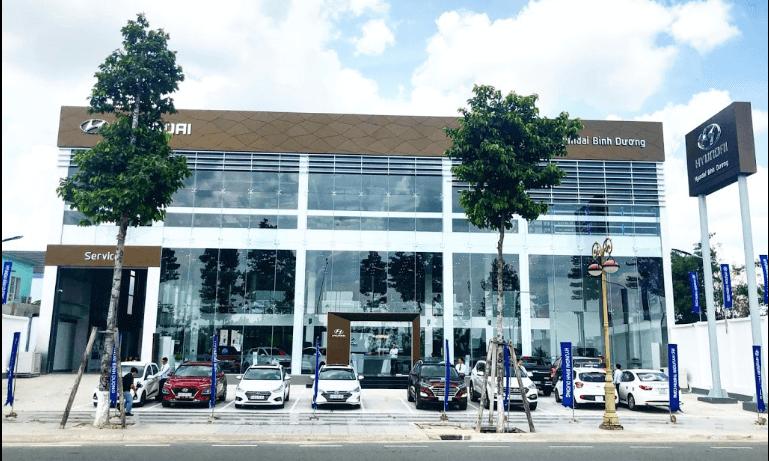 Hyundai Bình Dương chi nhánh Thành Phố Mới