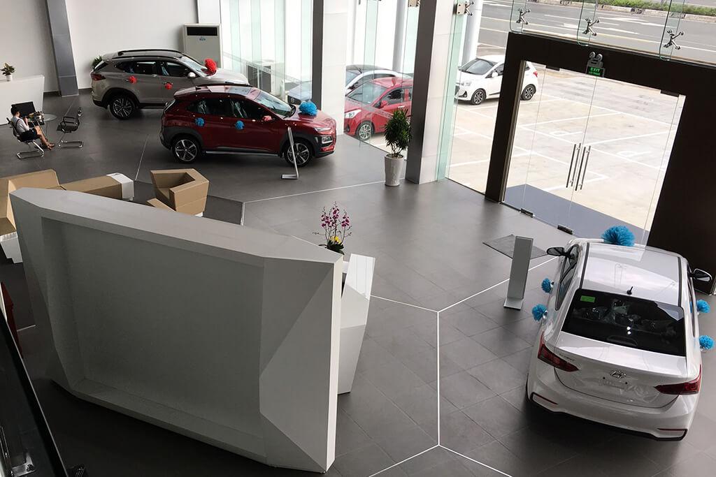 Showroom Hyundai Thành Phố Mới Bình Dương