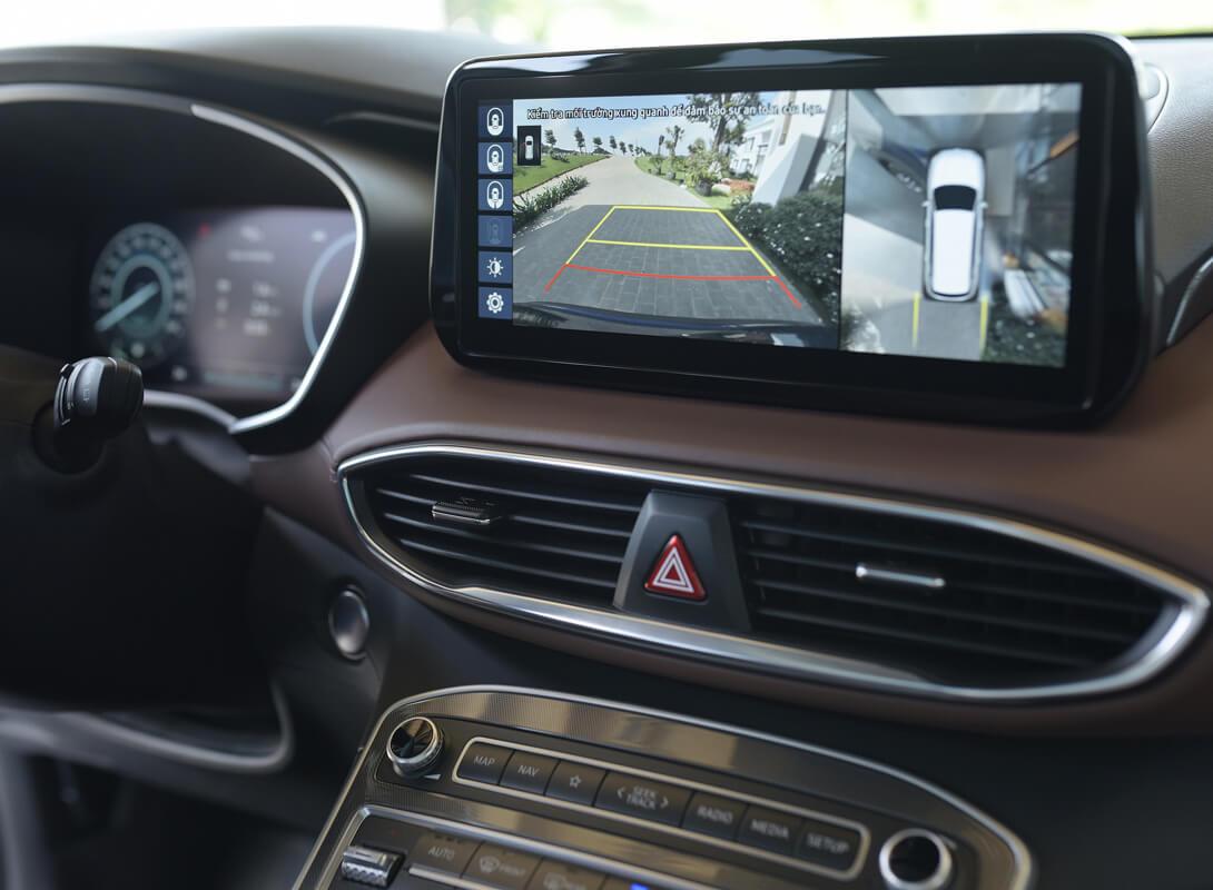 Bảng đồng hồ Hyundai Santa Fe 2021