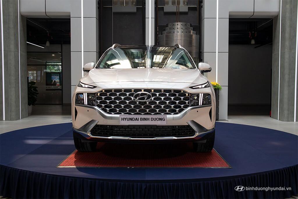 Thiết kế xe Hyundai Santa Fe 2021