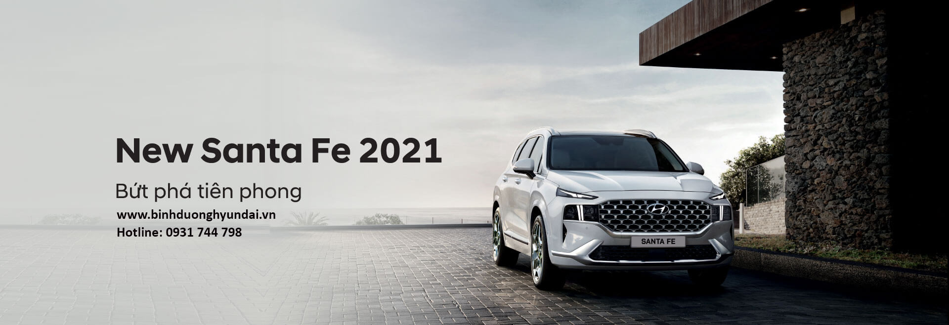 Hyundai Santa Fe 2021 tại Hyundai Bình Dương