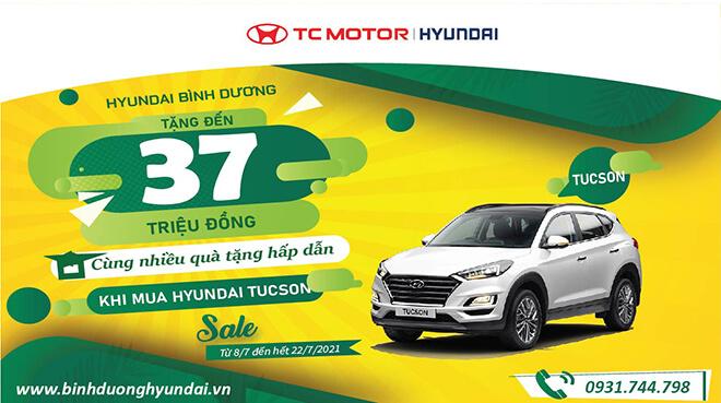 Hyundai Tucson Khuyến mãi đặc biệt trong tháng 7/2021