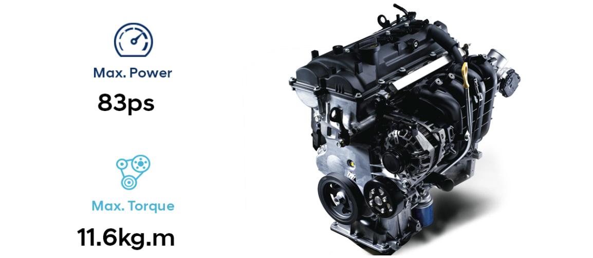 Động cơ xe hyundai grand i10 hatchback all new