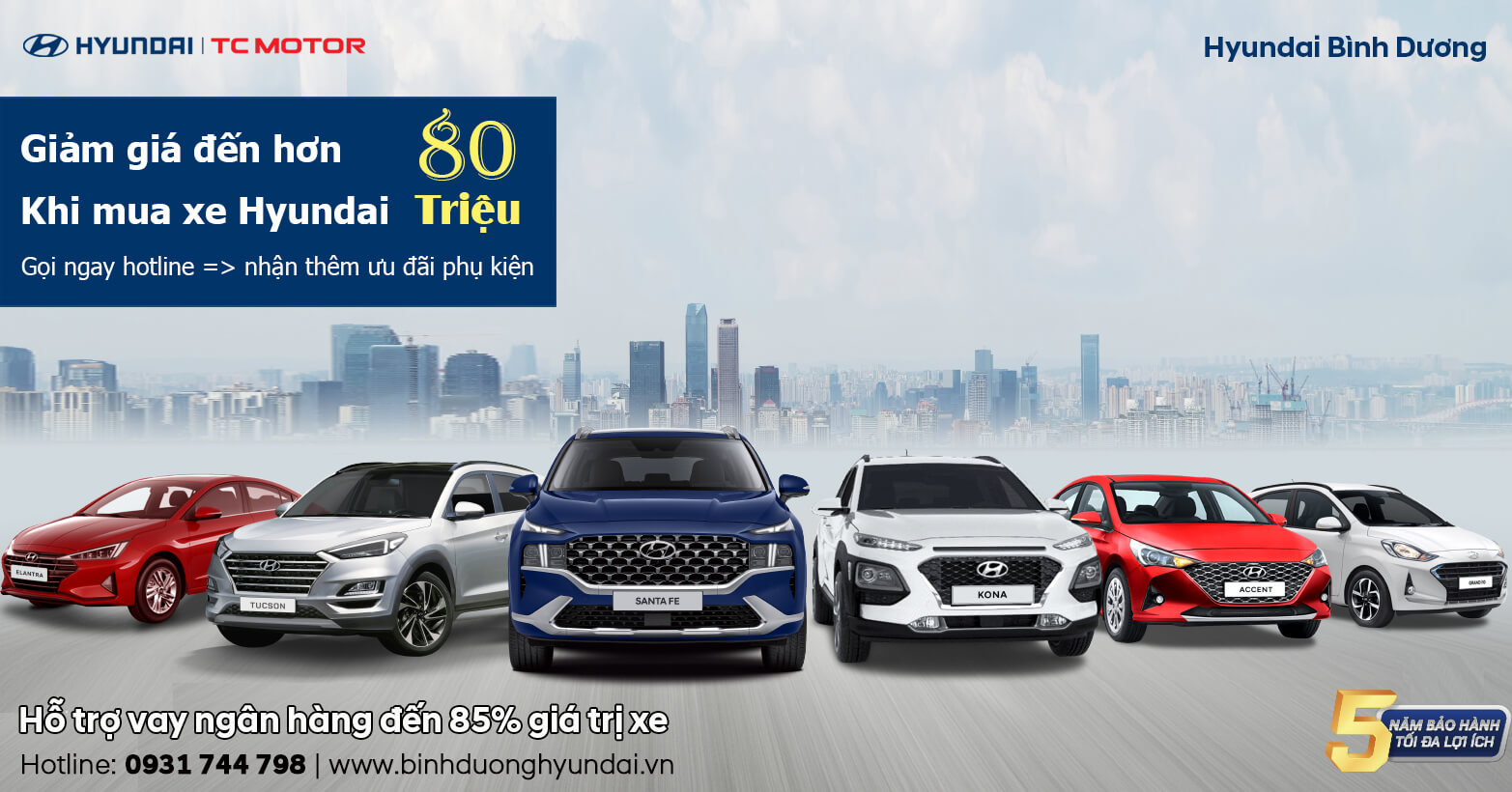 Hyundai Bình Dương - Đại lý ủy quyền của Hyundai Thành Công Việt Nam