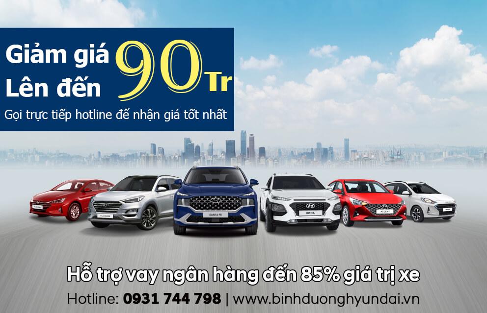 Hyundai Bình Dương Chương trình khuyến mãi